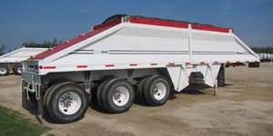 Belly Dump Gravel Trailers