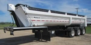 End Dump Gravel Trailers