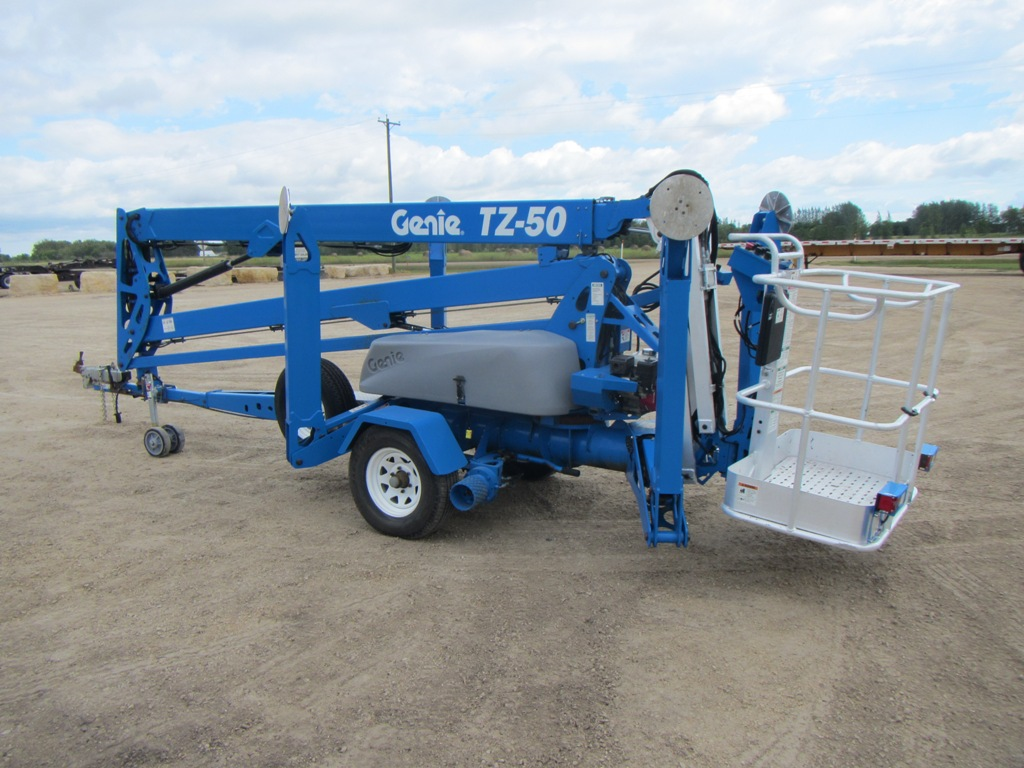 Genie TZ 50 Manlift 3 2010 genie tz 50 towable boom lift little league equipment genie tz 50 wiring diagram at creativeand.co